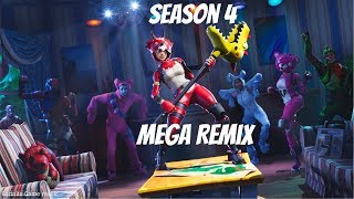 Fortnite Saison 4 - Re-experience Remix - Everybody Here Get Up