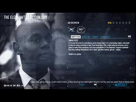 Payday 2 Election Day - Normal - Solo Stealth |