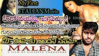 Malena  movie telugu explanation || malena review || italian movie || monica beccani || classic film