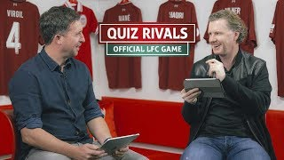 LFC Quiz Rivals: Fowler v McManaman | 'You've upset me with that stat'