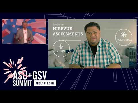 ASU GSV Summit: Thought Leaders: HireVue