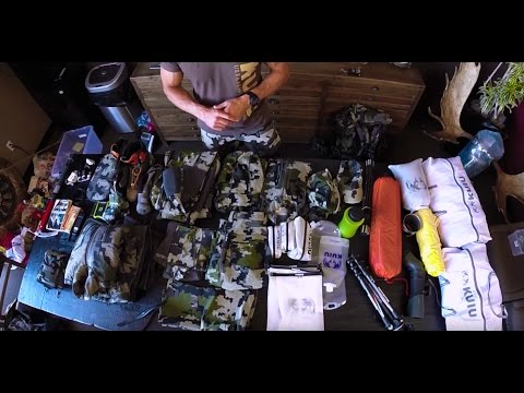 Backcountry Hunting Pack List - Backpack Hunting Gear