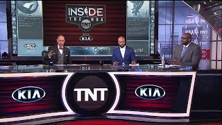 Rockets vs Spurs Game 2 Postgame Analysis NBA Playoffs | Inside The NBA | May 3, 2017
