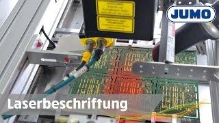 Laserbeschriftung von Leiterplatten   JUMO   DE   HD