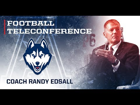 2017 Football Teleconference Week 4 - UConn Head Coach Randy Edsall