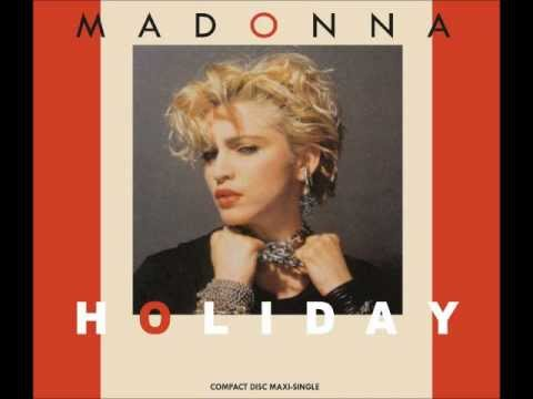 Madonna - Holiday (12'' Remixed Version Original).wmv
