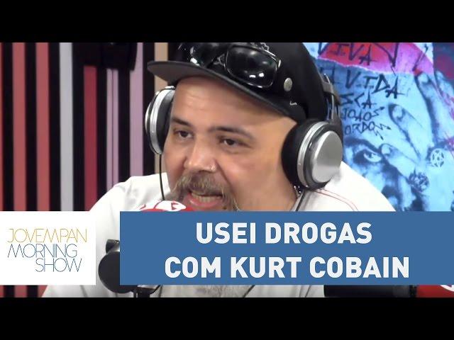 João Gordo lembra de quando usou drogas com Kurt Cobain