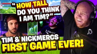 TIMTHETATMAN REACTS TO THE FIRST TIME HE DUO'D WITH NICKMERCS!!
