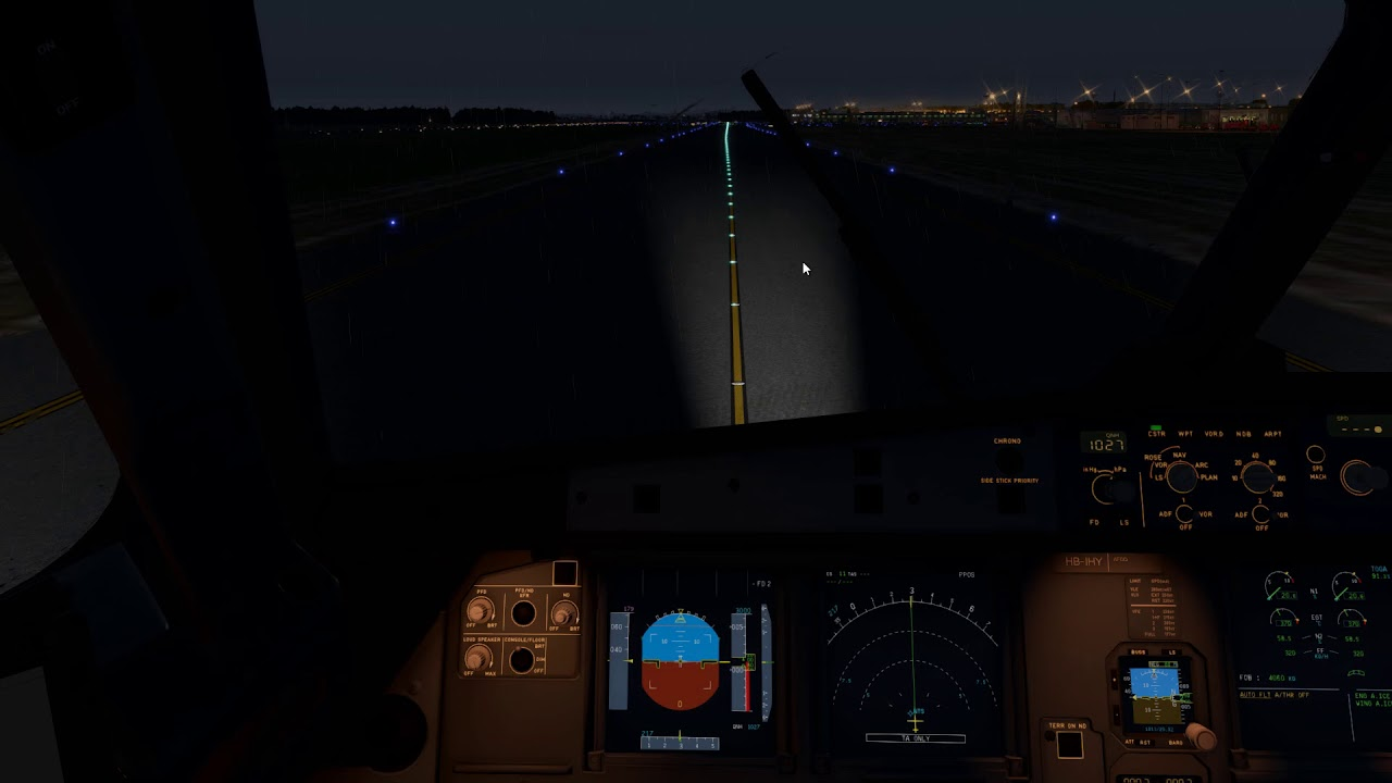 [X-Plane 11] Landing into Nantes | A320-214