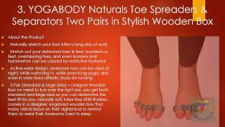 Best Toe Separators Review| Natural Footgear