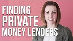 How to Find Private Money Lenders for Real Estate Investing
