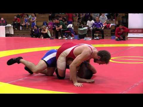 2015 World Team Trials: 61 kg Michael Asselstine vs. Adam MacFadyen