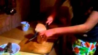 Мастер класс № 1. Как правильно резать хлеб.