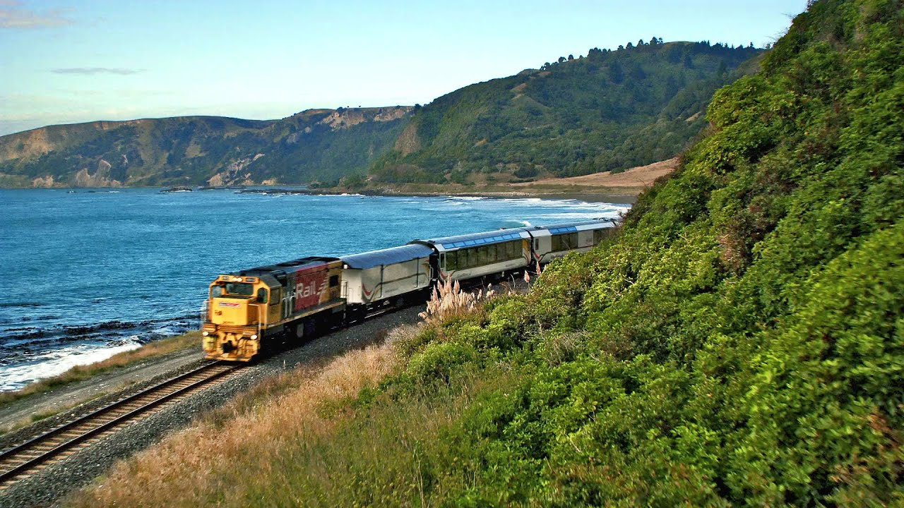 new zealand coastal pacific journey best railway journeys