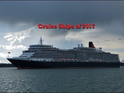 Cruise Ships of 2017