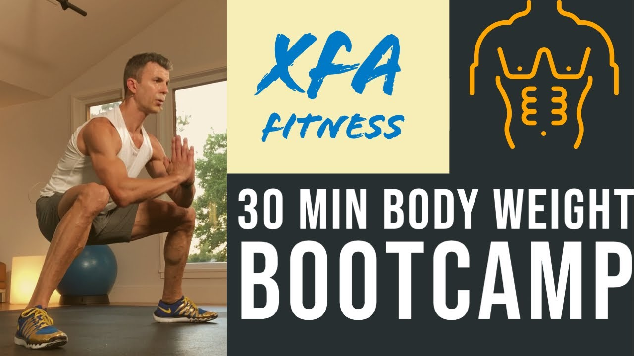 30 Minute Plyo Bootcamp Workout. Tough. XFA Fitness