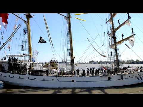 KRI DEWARUCI MENINGGALKAN NEW ORLEANS-LOUISIANA APRIL 2012
