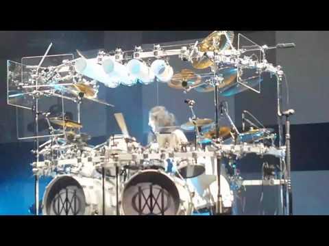 Drum solo Mike Mangini Dream Theater Tilburg  08-02-2017