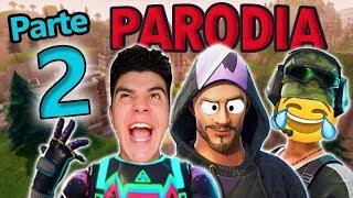 TIPOS de JUGADORES en FORTNITE 2! 😂 PARODIA!