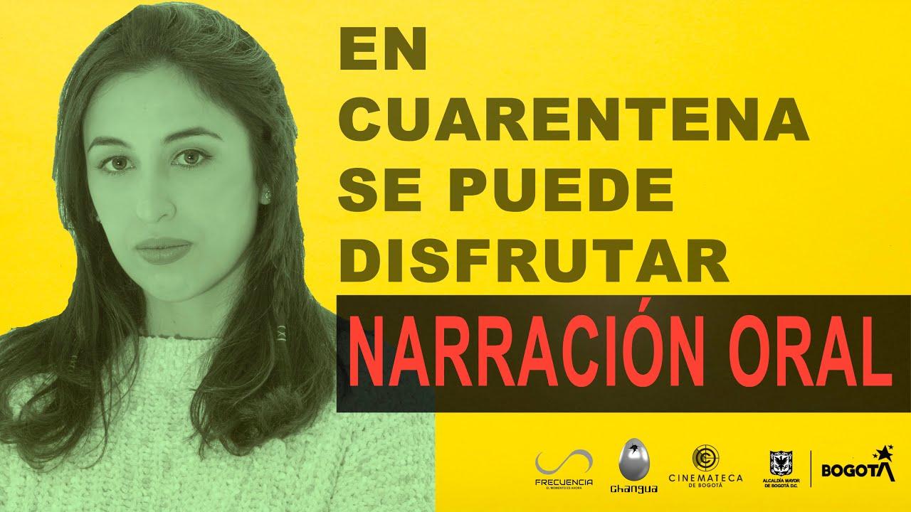 En cuarentena se puede disfrutar narración oral con Ana María Hernández