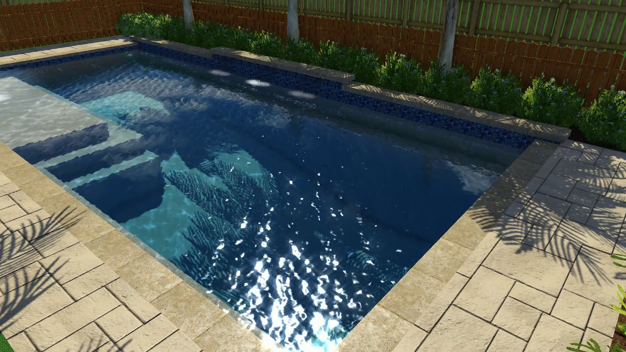 Puckly Pool Design V3 By Backyard Amenities