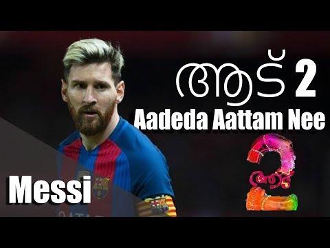 Lionel Messi -Aadu 2 ●Aadeda Aattam Nee ● Mega Skills