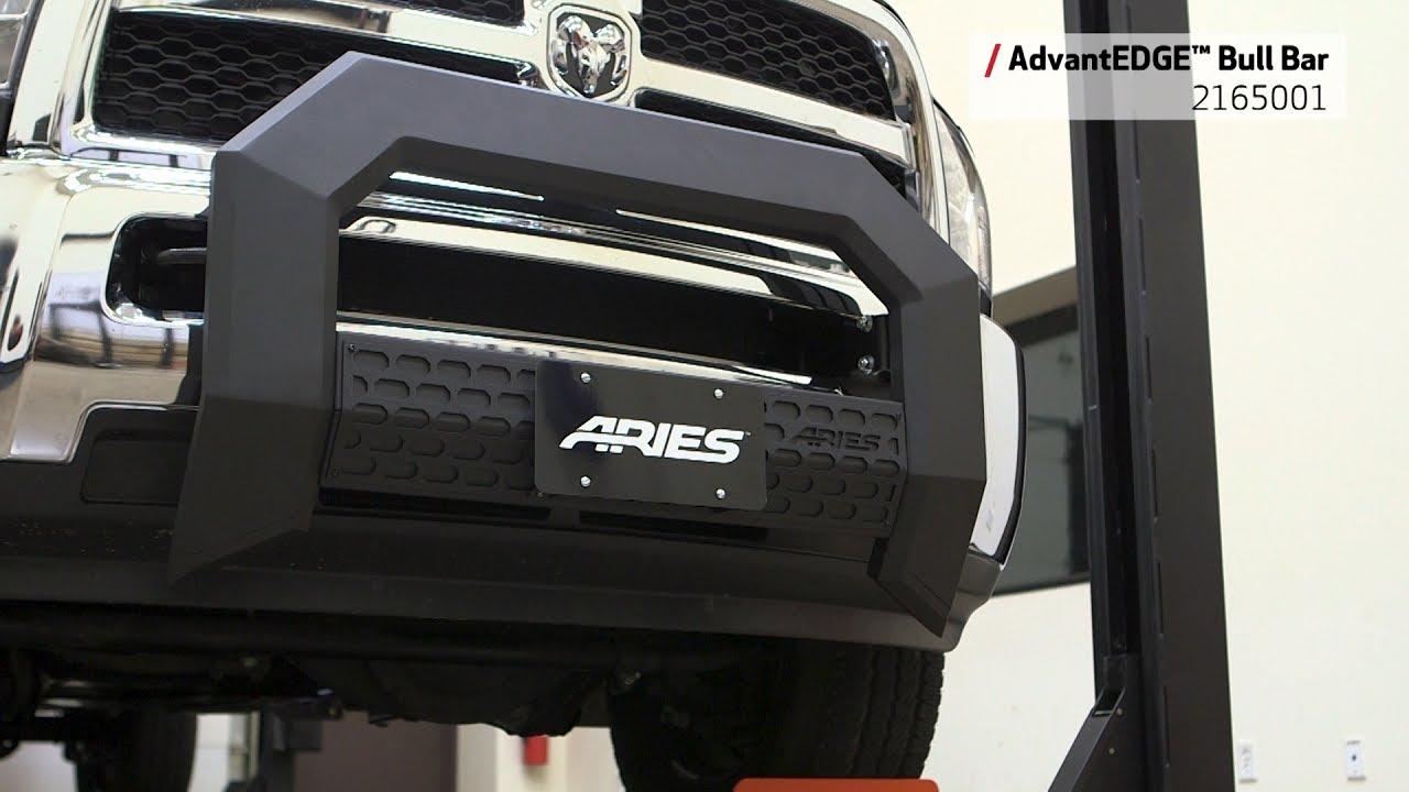 ARIES AdvantEDGE™ Bull Bar for Ram 2500/3500HD - 2165001 ...