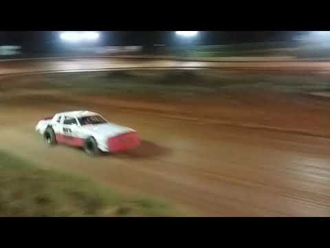 First Practice after barrel roll. Tri-county Racetrack