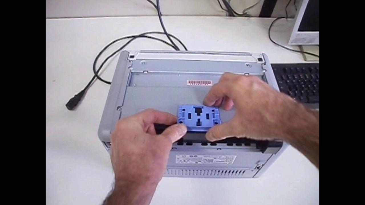 How to fix a printer paper jam HP Laserjet P1102 P1105 P1505