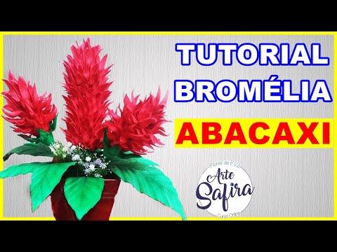 Flor Bromelia Abacaxi de e v a