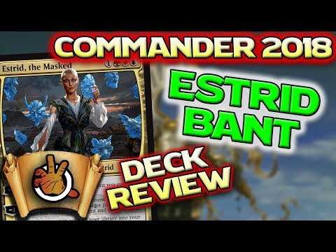 Adaptive Enchantments - Commander 2018 - Estrid Review l The Command Zone #223 l Magic the Gathering