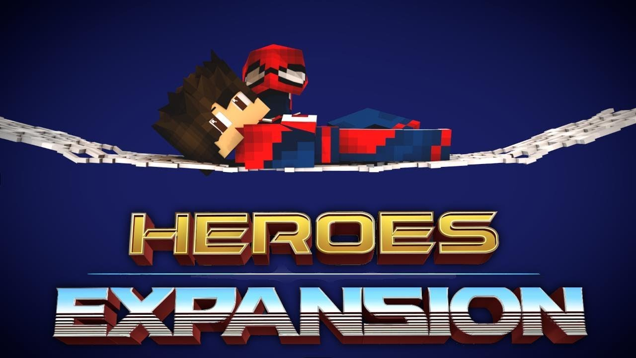 Heroes Expansion Mod New Beta!!(Minecraft Mod Showcase) Spiderman and  Hulk!!! 1 12