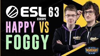 WC3 - ESL European Open Cup #63 - Grand Final: [UD] Happy vs. Foggy [NE]