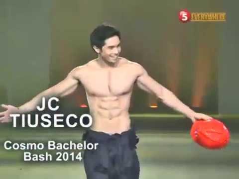 COSMO BASH 2014   JC TIUSECO, IPINAKITA ANG MATIPUNONG KATAWAN SA ENTABLADO 2