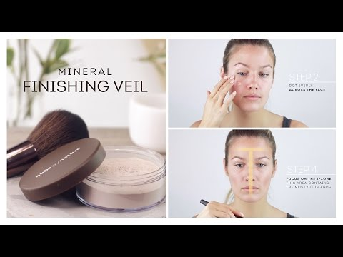 HOW TO: Mineral Finishing Veil (Finishing/Setting Powder) by Nude by Nature