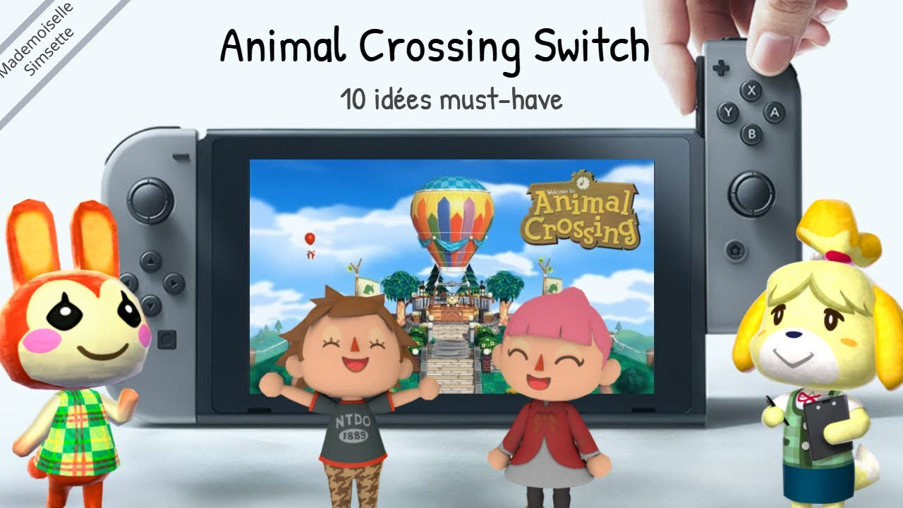 fr animal crossing switch 10musthave youtube