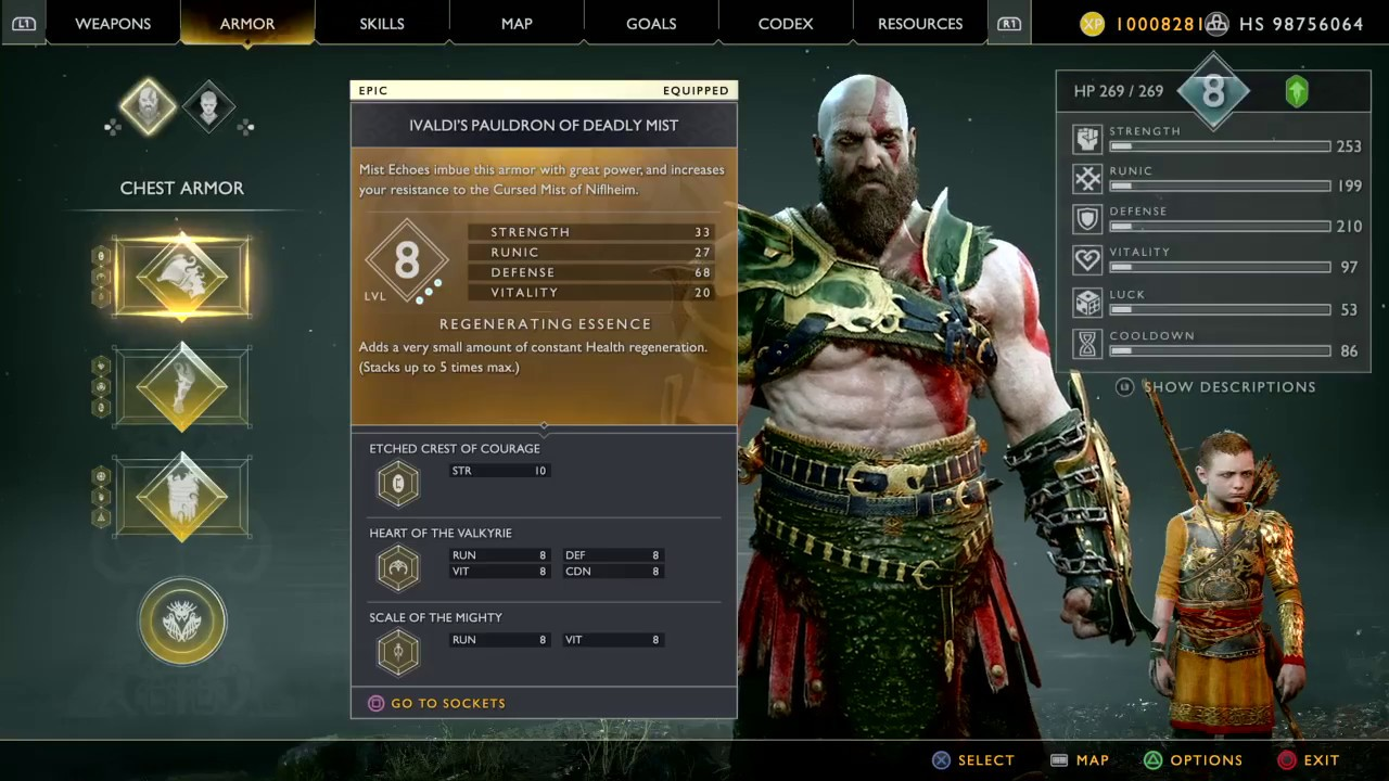 God of War 2018 UNLIMITED XP AND ITEMS PS4 Game Save Editor