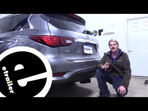 etrailer | Curt Trailer Hitch Installation – 2019 Infiniti QX60