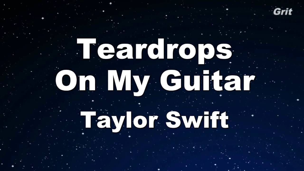 Taylor Swift Teardrops On My Guitar MP3 Download