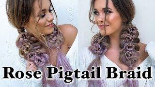 Rose Pigtail Braid