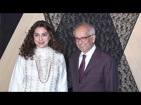 Juhi Chawla With Husband Jai Mehta At Mukesh Bhatt Daughters