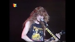 Megadeth - Live in Essen 1988/05/20 [50fps]