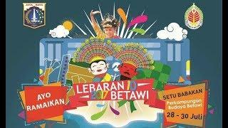 Lebaran Betawi 2018 hari ke 2 di perkampungan betawi setu babakan