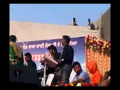 Gurdas Maan At Baba Bhai Santa Ji Mithapur Jalandhar.3gp