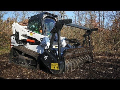 Bobcat Forestry Cutter - Rent It Today At Garden State Bobcat NJ, NY, & DE