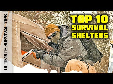Top 10 - Camping / Emergency / Bug Out Shelters + 3 Best Budget Tents