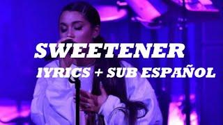 SWEETENER - Ariana Grande (Español) - Lyrics