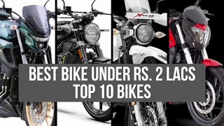 Best Bike Under 2 Lakhs India Top 10 Bikes Pros & Cons #Bikes@Dinos