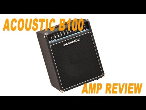 Acoustic B100 mkII Bass Amp Review \\ Stefan's Bass Blog