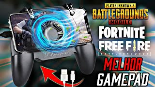THE BEST GAMEPAD TO PLAY FREE FIRE, FORTNITE AND PUBG MOBILE [WITH TRIGGERS + COOLING SYSTEM]